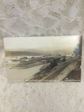 RPPC Cascade Locks - Columbia River Highway Oregon - Vintage Real Photo Postcard