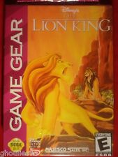 THE LION KING SEGA GAME GEAR LE ROI LION GAME GEAR NEUF