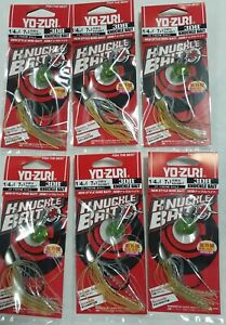 6-Pack Yo-Zuri Knuckle Bait 1/4 oz. Gizzard Shad, R1327-GZSH, NEW!