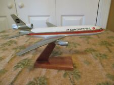 Vintage Continental Airline Air Jet Advance Desk Top Model with Stand