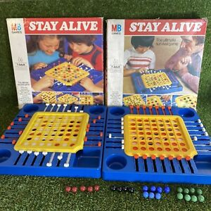 Vintage Stay Alive Board Game - Spares / Replacement Parts **Choose Your Item**