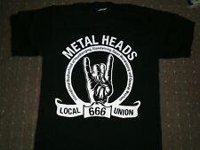 Metalheads Tribute T-shirt,heavy metal,slayer,iron madien,metallica,