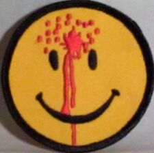 SMILEY FACE W/BULLET HOLE EMBROIDERED MOTORCYCLE MC ROCK PUNK TRUCKER PATCH N-3