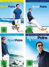17 DVDs * ROYAL PAINS - STAFFEL / SEASON 1 - 4 IM SET # NEU OVP +