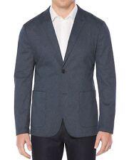 $185 New Mens Perry Ellis Slim Fit Scribble Print Stretch Blazer Sport Coat 42 R