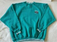 Club Nautica Sweater Size Large XL Teal Color Long Sleeve Embroidered Pullover