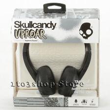 Skullcandy Uproar Uprock On-Ear Stereo DJ Headphones w/Microphone & Remote Black