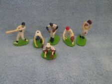 """Vintage Hard Rubber BASEBALL PLAYERS Figures; 2"""" TO 3""""; Uniforms & Number Jersey"""