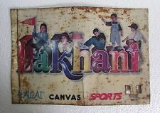 Vintage Lakhani shoes Ad. Printed Tin Sign Board Collectible