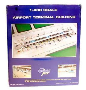 GEMINI JETS 1:400 SCALE GJARPTB AIRPORT TERMINAL BUILDING