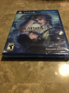 Final Fantasy X X-2 HD Remaster for PS4 ** Brand New / Sealed **