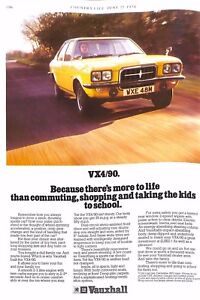 Original 1970s 'Vauxhall VX490' Car Advertisement from Country Life Magazine