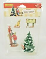 Lemax - Picking the Tallest Tree (4pcs) Christmas Village Figurines (New) Resin