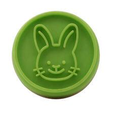 Easter Egg Rabbit Cake Fondant Plunger Cutter Cookies Biscuit Pastry Mold DIY KS