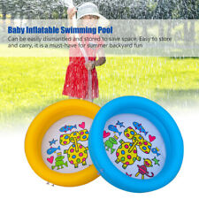 Toy Baby Swimming Pool Portable Inflatable Kiddie Lovely Indoor Outdoor Bath Tub