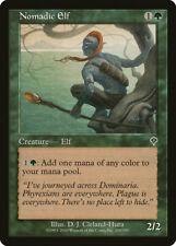 Magic MTG Tradingcard Invasion 2000 Nomadic Elf 200/350