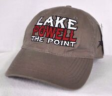 *LAKE POWELL THE POINT* Antelope Point Marina House Boating Ball cap hat *OURAY*