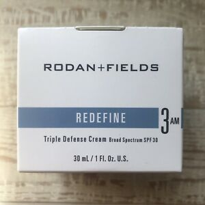 Rodan + Fields REDEFINE Triple Defense Cream Treatment Step 3AM NIB!!