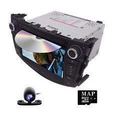 HD CAR DVD GPS HEADUNIT NAVIGATION FOR Toyota Rav4 2006-2012 Free Camera