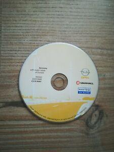 OPEL Navigation CD70 Navi DEUTSCHLAND + HAUPTSTRASSEN EUROPAS 2007/2008