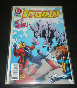 DC Legion of Super Heroes (1989 4th Series) Issue #73 VF Cond Out of Control