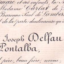 Celestin Joseph Delfau De Pontalba Versailles 1885