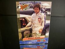 Rare Ricky Rudd Wheels Rookie Thunder Rookie Of The Year 1977 Card #19