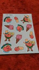 Vintage Trend Cherry Sticker Sheet - Damaged