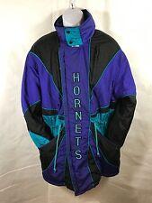 Vintage Pro Player Mens Charlotte Hornets NBA Jacket Parka Stitched Size S