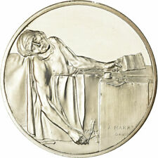 [#713343] France, Medal, Peinture, la Mort de Marat, Jacques Louis David