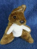 *1919a*   Aussie Kangaroo (male) - 14cm - Grab a Jumbuck - plush