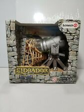 Schleich Eldrador Cannon with Shooting Function Play Set for Knights 42222 New