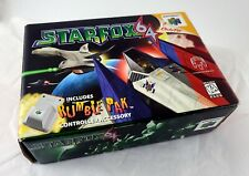 Nintendo N64 Star Fox 64 - BOX ONLY!  NO GAME NO MANUAL NO RUMBLE PAK Starfox