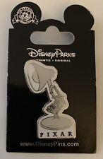 Rare Pixar Disneyland Lamp Logo Pin