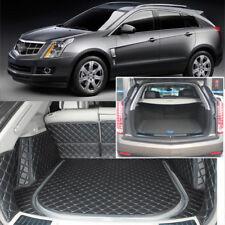 5pcs Black Rear Trunk Cover Cargo Mats Seat&Floor Protector For Cadillac SRX