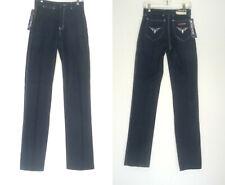 Vtg 70s 80s 4 ALL SEASONS Deadstock New/Old Blue Denim Jeans White Topstitching