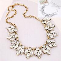 Fashion Jewelry Bib Crystal Statement Pendant Chain Choker Collar Necklace NEW