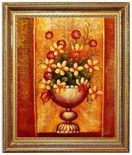 Ölbild Blumen Blumenmotive ÖLGEMÄLDE HANDGEMALT 50x60cm REDUZIERT,TOTALABVERKAUF