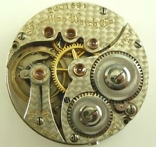 Scarce Hamilton 988 Pocket Watch Movement - Running Condition !
