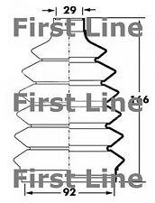 FCB6042 FIRST LINE CV JOINT BOOT KIT fits Subaru Impreza