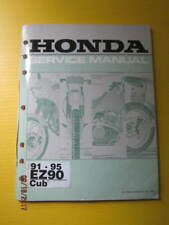 HONDA EZ90 CUB 91-95 Factory Service Manual