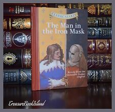 Man in the Iron Mask by Alexandre Dumas  New Illustrated Collectible Hardcover