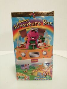 Barney - Barneys Adventure Bus (VHS, 1997) Free First Class Shipping!!