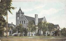Congregational Church, Fargo, North Dakota 1909 Vintage Postcard