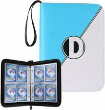 D Dacckit Carrying Case Binder Compatible With Pokemon Card, Holds Up To 400 Car