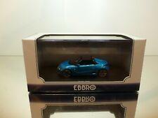 EBBRO 45360 HONDA S660 - BLUE METALLIC 1:43 - EXCELLENT IN BOX