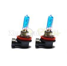 H11 5000K 100W Fog Spot Light Bulbs HID Xenon Super White Look Effect