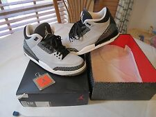 Nike Air Jordan 3 Retro 12 wolf grey metallic silver white basketball sneakers