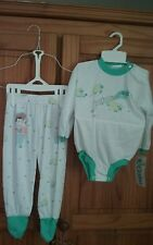 Carter's Infant Boy Girl One Pc + Pants Size Large 12-18 Months NWT Sheep BoPeep