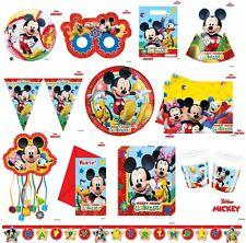 MICKEY Mouse Clubhouse Festa Stoviglie Decorazioni Bambini Compleanno Disney